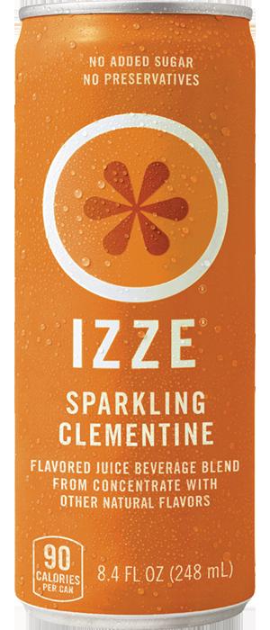 Izze Orange