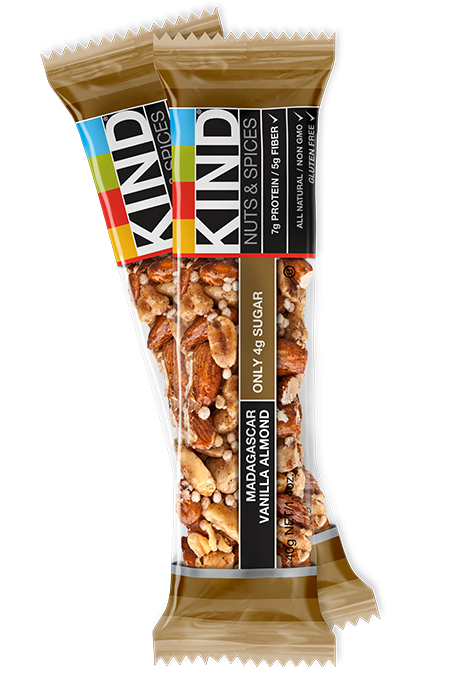 kind bar mad vanilla almond