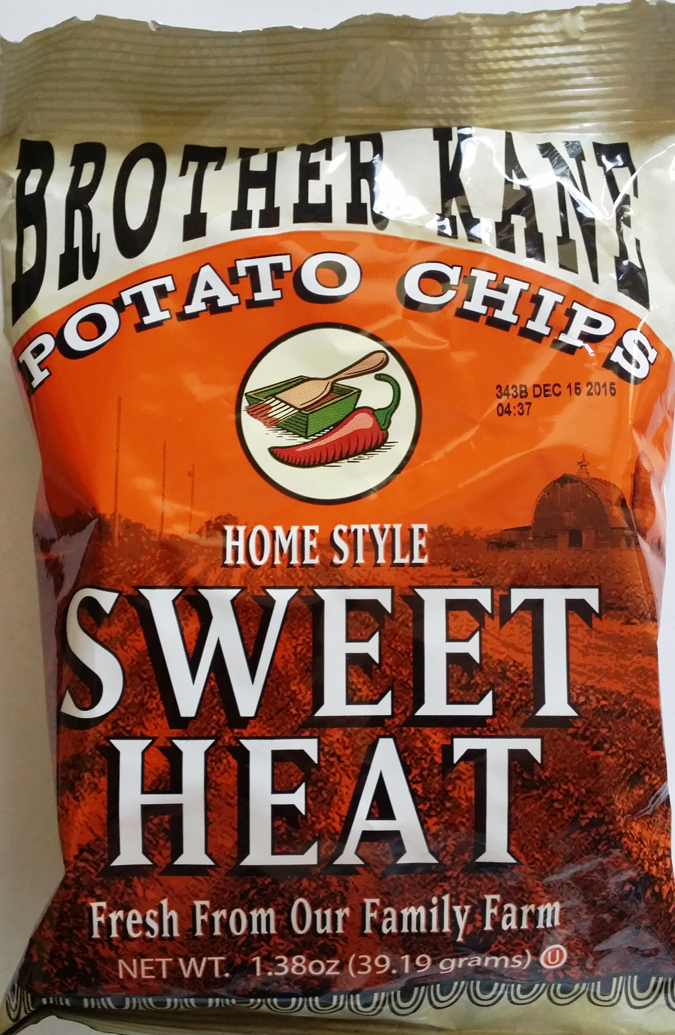 Brother Kane Sweet Heat Potato Chip