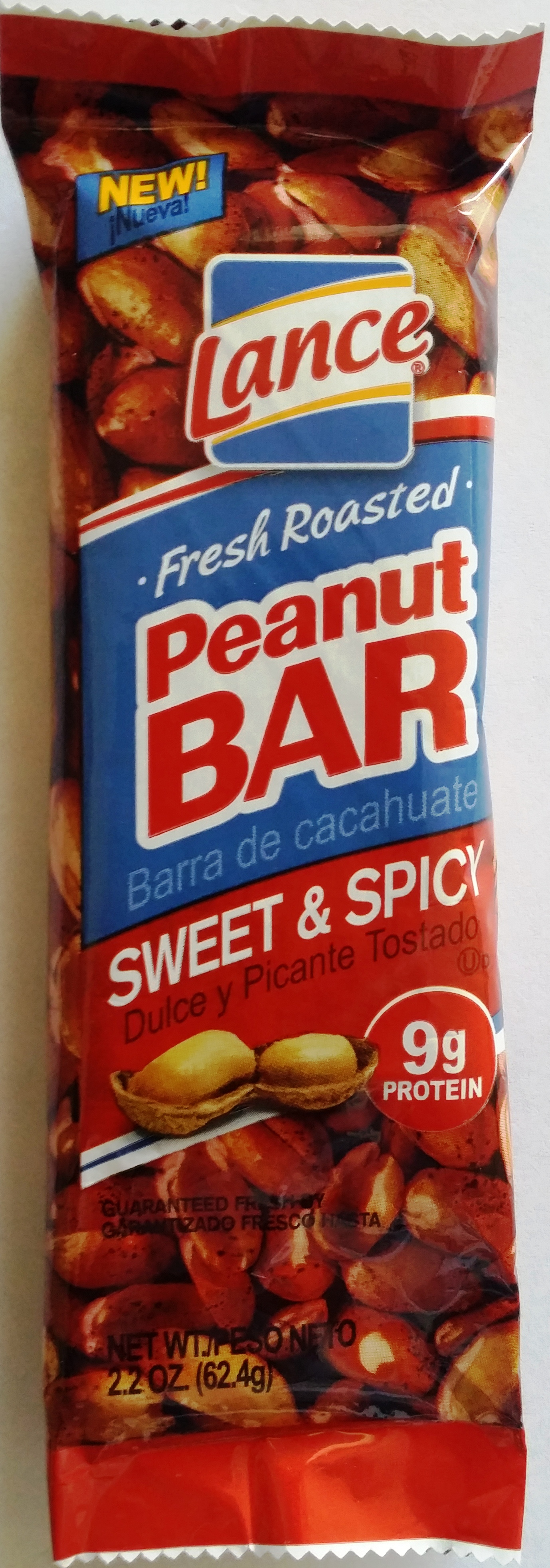 Lance Sweet n Spicy Peanut Bar